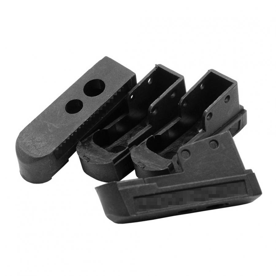 (DY-AC49-BK) Combat Mag Base for TM 1911 Magazine (Pack of 4) (Black)