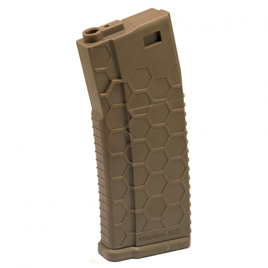 (HMA-MAG03-FDE) Hexmag Airsoft 120rds ECO AEG Magazine (Dark Earth)